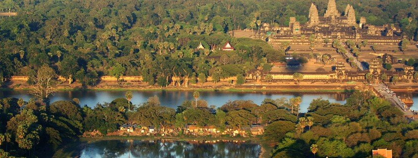 Cambodge Remontée du Mékong