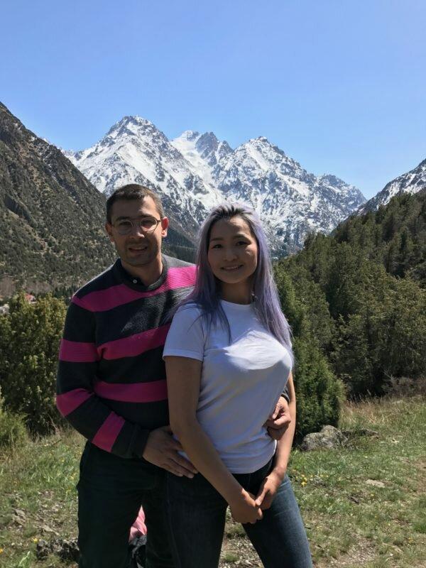 Sylvain Recouras et son épouse