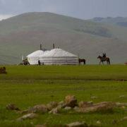 yourtes en mongolie