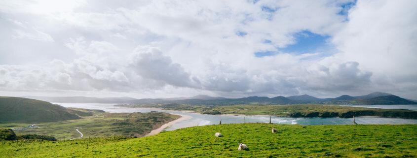 peninsule d'inishowen en irlande