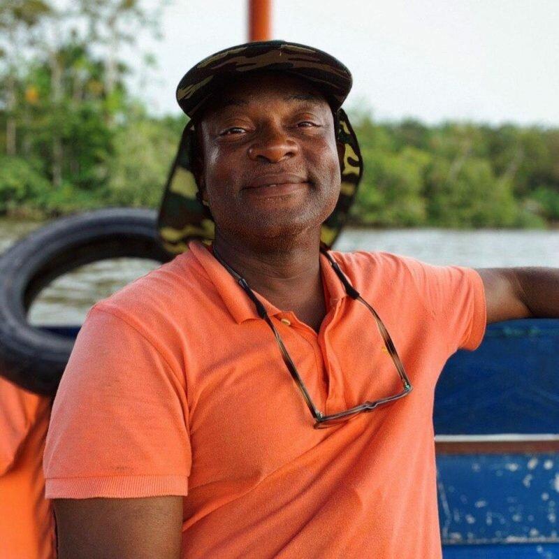 portait de thierry beltran, guide touristique en guyane