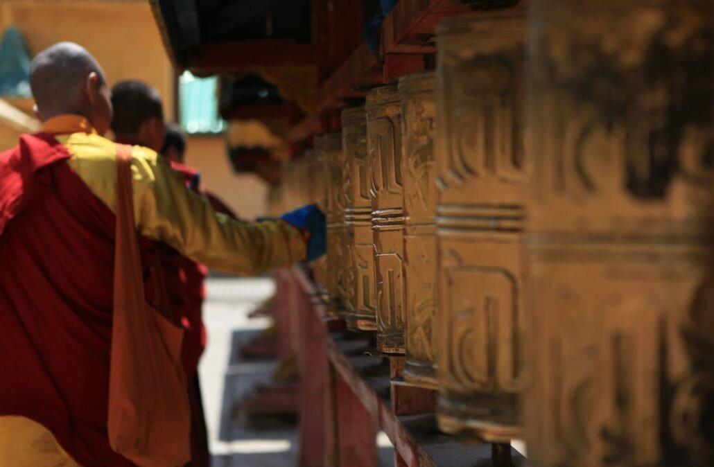 Ulaanbaatar - gandan monastere