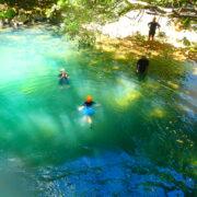 baignade en rivière en guadeloupe