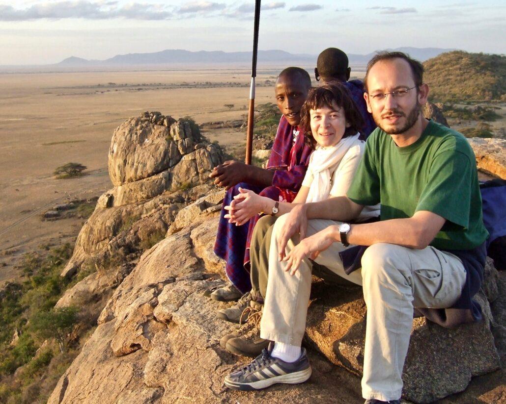 première rencontre avec Olee à Olduvai