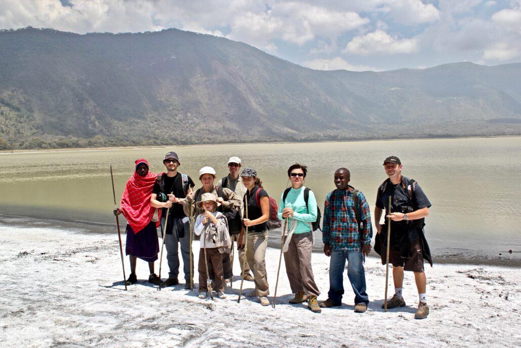 trekking dans le cratère Empakaai
