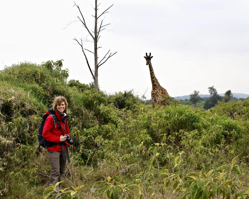 Trekking dans le parc national d'Arusha