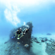 plongeurs à Nassau