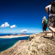 La Graciosa depuis les falaises de Famara