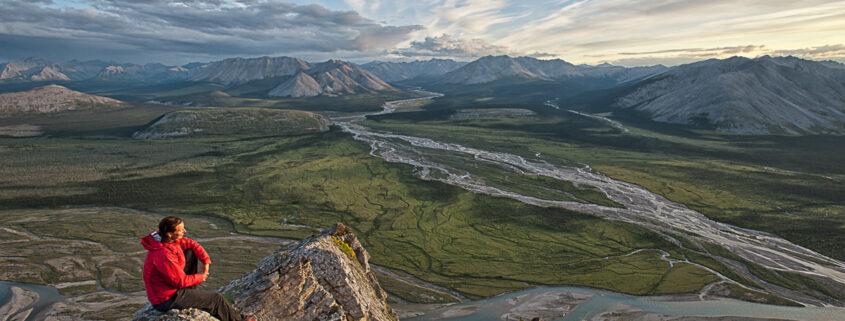Rivière au Yukon