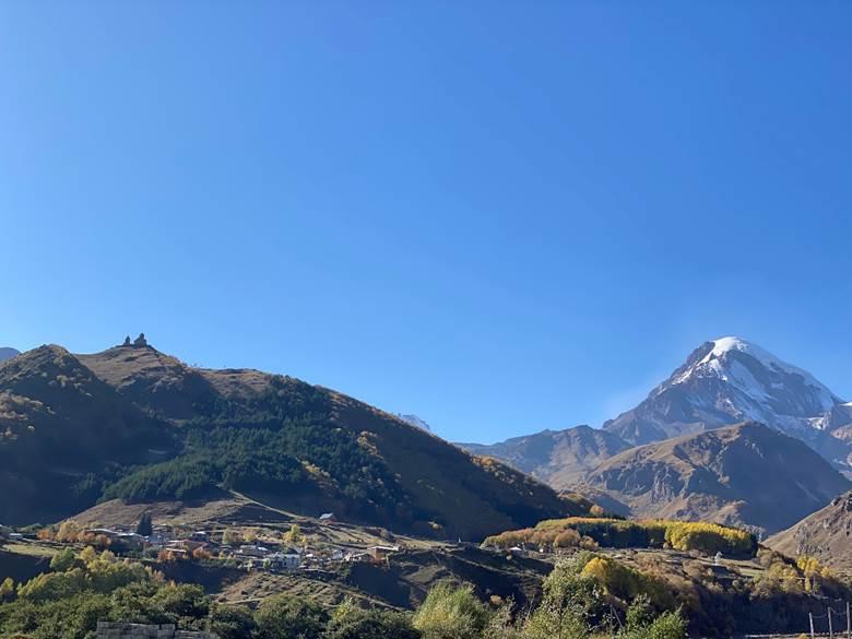 Montagnes géorgiennes