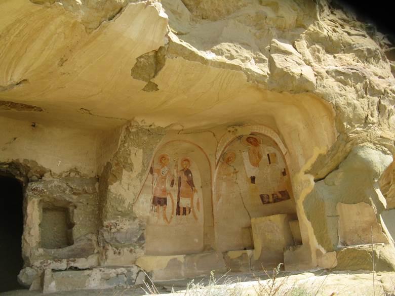monastère troglodyte de david garedja