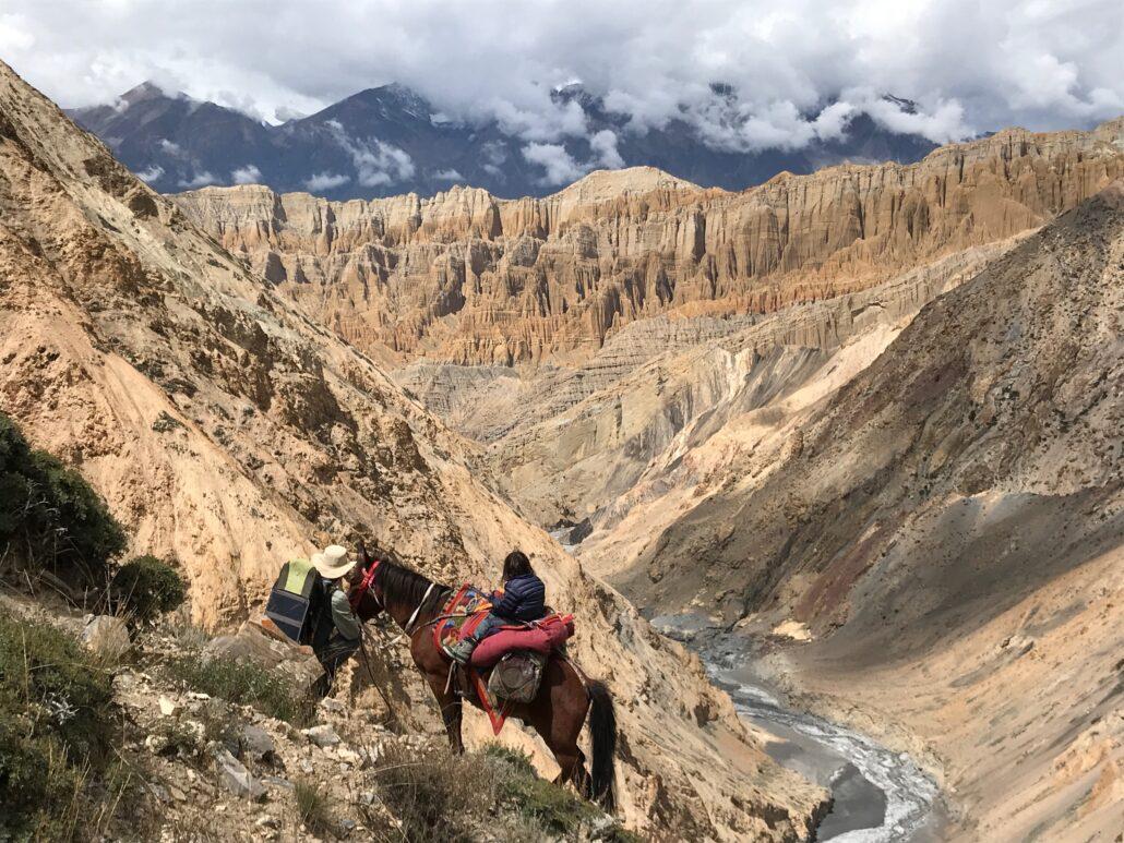 Entre Kog et Narsing Khola, en Inde