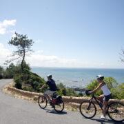 Tour à vélo au long de la côte Atlantique